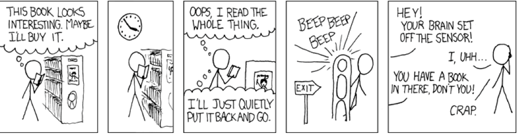 bookstore brain copyright